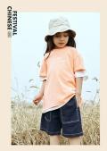 廣州品牌童裝折扣批發中大童衣城優品夏裝童裝貨源批發