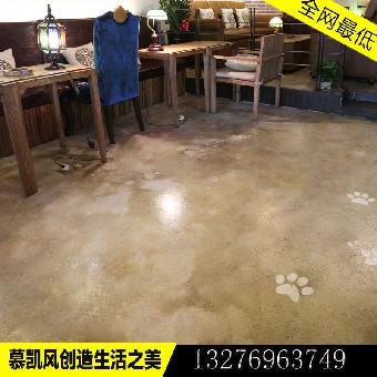 地板漆水泥地面漆做旧纹理漆环氧地坪漆