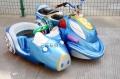 山东滨州广场碰碰车新款双人摩托车