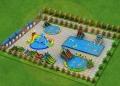 山西大同支架泳池戶外移動水上樂園水上沖關浮具