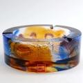 古法琉璃煙缸 龍騰煙灰缸擺件 精品煙灰缸禮品
