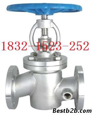 bj41h-16p不锈钢保温截止阀dn65图片