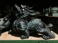 陕西庆典纪念品 青铜大鼎 铜车马工艺品 送外宾礼品