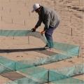 内蒙古自治区防沙治沙工程尼龙网格沙障价格,阻沙网