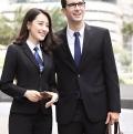 從化區2020年新款潮流男女西服正裝職業工裝定制