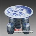 景德鎮陶瓷桌子高檔手繪瓷桌瓷凳 戶外庭院桌椅陽臺桌