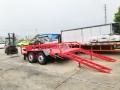 7噸ATV中型平板拖車 履帶式