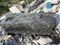 江西黑山石水缽加工定制黑山石異形加工造景設計