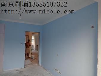 老房装修旧墙面翻新刷大白,老祝先装修后付款