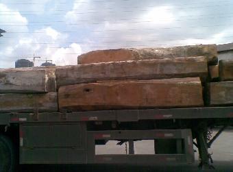 秘鲁红檀香木材进口报关公司黄埔港进口秘鲁香脂木豆