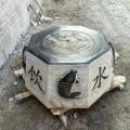 青石做舊井口石圈石雕老式井蓋庭院戶外擺件
