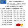 負離子發生器 空氣清新機專用高頻貼片電容100V