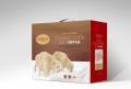 重慶家紡包裝盒定做,毛毯棉被禮品箱定制