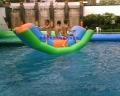 江蘇淮安移動充氣水上樂園水上充氣玩具香蕉船多少錢?