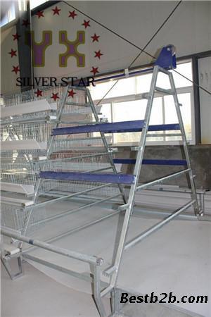 四层阶梯式履带清粪机,银星唯一行业最早荣获国家专利