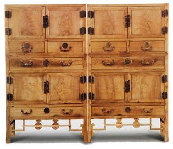 2014金丝楠木家具拍卖价格