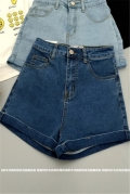 女式中腰牛仔褲低價批發破洞牛仔長褲幾元低價地攤甩賣