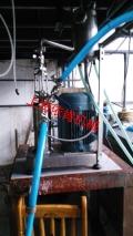 ME農藥微乳劑中式型膠體磨,生物農藥油包水乳化機