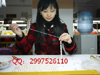 串珠手工活加工水晶饰品