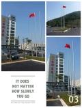 商河縣不銹鋼旗桿價格 商河縣旗桿廠家 錐形旗桿安裝