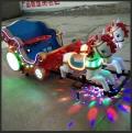 生產優質碰碰車是鄭州海貝游樂的目標