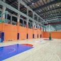 羽毛球館運動木地板