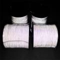 雙面高光度反光絲 編織繩子專用反光紗 廠家直供