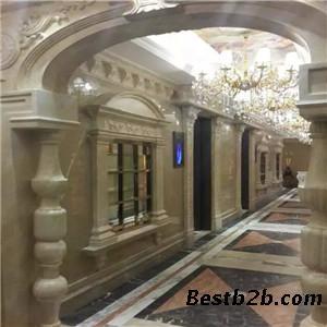 半圆罗马柱装修效果图客厅