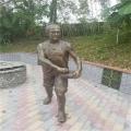 肇慶玻璃鋼雕塑定做公園景觀人物擺件