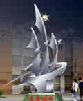 永州園林景觀雕塑A永州祁陽不銹鋼雕塑