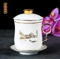 创意网红陶瓷茶杯订做 加字订做陶瓷茶杯