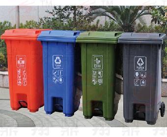 全新吉安户外塑料垃圾桶抚州塑料垃圾桶