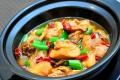 鄭州特色小吃黃燜雞米飯