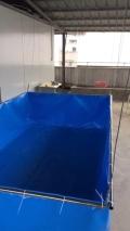 帆布水池帆布鱼池价格-养殖篷布池生产厂家