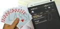 PVC射频识别百分牌RFID芯片扑克牌防水耐用卡