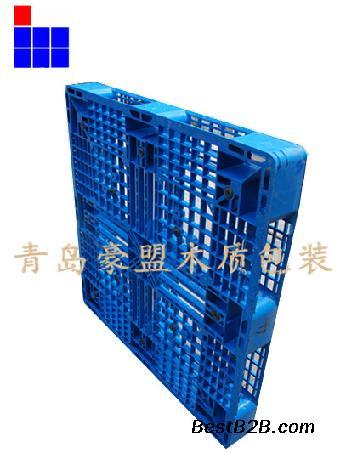 青岛港专用出口免熏蒸塑料托盘价格便宜质量优质