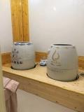 圣菲活瓷能量養生缸磁療翁蒸缸美容院熏蒸缸養生甕陶瓷