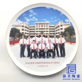辰天陶瓷紀念盤工廠開模生產過各類公司家族學校個人