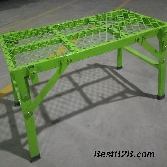 脚手架图片装修架折叠架马凳价格