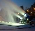 造雪機工作前的準備