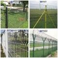 富華PVC涂塑鍍鋅鐵絲網圍欄 新式外場封閉圍網