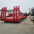 挖掘機運輸專用三軸鉤機板半掛車