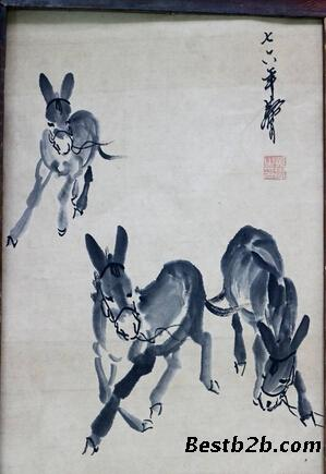 画家黄胄印章图片