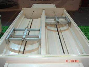 刮粪板结构图尺寸