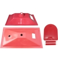 仔豬保溫箱產床塑料小豬保溫箱大號蓋子小門條養豬設備