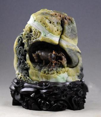h;—当代玉石雕刻