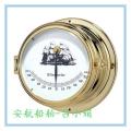 意彩app供应船用持久航海石英钟 计时仪CCS铜质