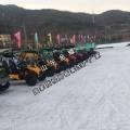 落叶蝶舞地披金雪地卡丁车来凑热闹 滑雪场卡丁车设备