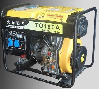 广西190a柴油发电电焊机