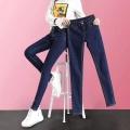 地攤女款牛仔褲清倉尾貨韓版女裝牛仔褲外貿女式牛仔褲